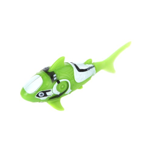 KINGZER Shark Pattern Water Activated Electronic Lifelike Swimming Fish Kids Toy Green from KINGZER