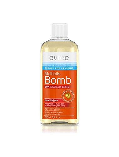 EVREE MULTIOILS BOMB Duschöl mit Macadamiaöl und Olivenöl 250ml EV0045