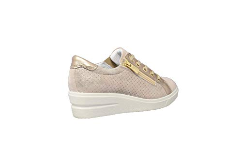 Sneakers Taupe Igieco Sneakers Igieco Donna Pelle Pelle Donna 0E1qnxwB