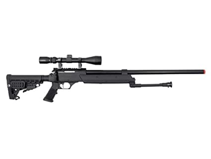 amazon com well heavy weight spring sniper rifle with scope and
