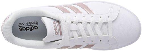 adidas Women's Cloudfoam Advantage Low-Top Sneakers White (Footwear White/Vapour Grey Metallic/Footwear White) h5SOOfyukB