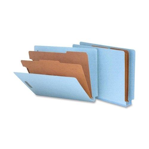 SMD26781 - Smead 26781 Blue End Tab Pressboard Classification Folders with SafeSHIELD Fasteners