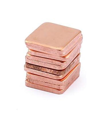 Panamami 10 Piezas de Cobre Puro, Latã³n, Caldera del disipador Tã©Rmico,