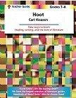 Hoot Teacher Guide, Novel Units, Inc., 1581308108