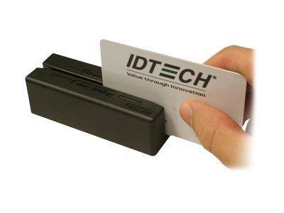 ID TECH WCR3227-600US B 1810 ID TECH, OMNI SLOT READER, VIS RED, SEALED, USB-RS232, EMUL ID TECH MiniMag II P/N : IDMB-334133B