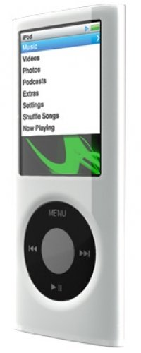 SwitchEasy Capsule Thins Crystal Case for iPod nano 4G - White -