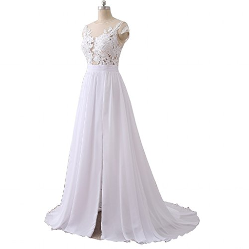Tail Dresses For A Wedding | Gowns For Dresses Wedding Chiffon Beach Tail Dress Wedding 2018 Long