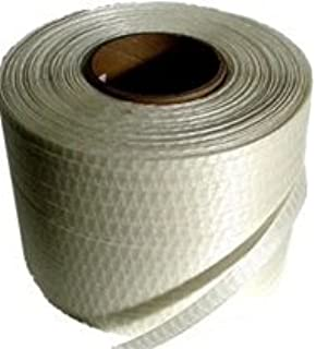 Strapping 5//8 x .035 4,000 ft FROMM Embossed//Unwaxed Green Polyester Length PET 16 x 6 Core Core