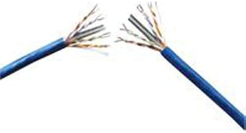 Spool PVC Genesis Cable Systems Cat6 500MHz Blue 1000