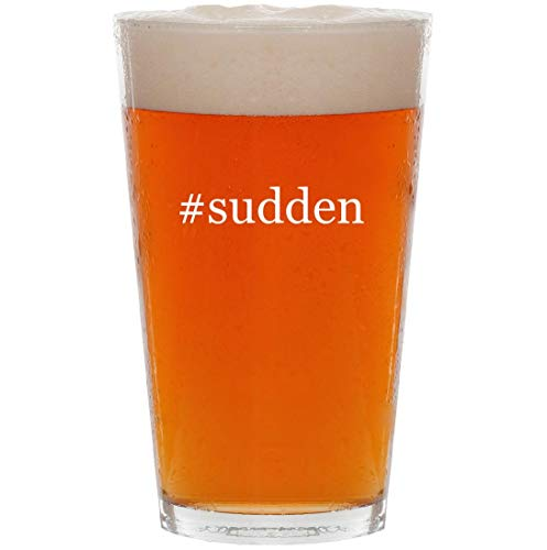 Price comparison product image #sudden - 16oz Hashtag Pint Beer Glass