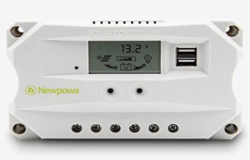 Newpowa Positive Ground 10A Solar Charger Controller Regulat