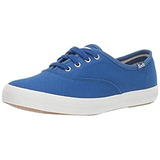 Keds Women's Champion Sneaker, Blue, 7.5