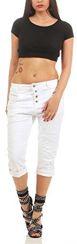 Karostar by Lexxury - Jeans - boyfriend - Donna Bianco