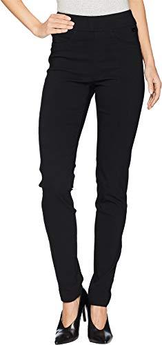 FDJ French Dressing Jeans Women's Technoslim Pull-On Slim Leg in Black Black 6 31