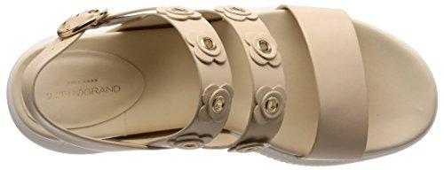 Cole Haan Kvinna 2 Zerogrand Blomma Sandal 30mm Brasiliansk Sand-elfenben