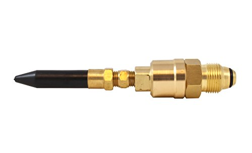 RUBBER NOZZLE TILT VALVE HELIUM GAS E99 BALLOON FILLER REGULATOR BRASS INFLATOR ()