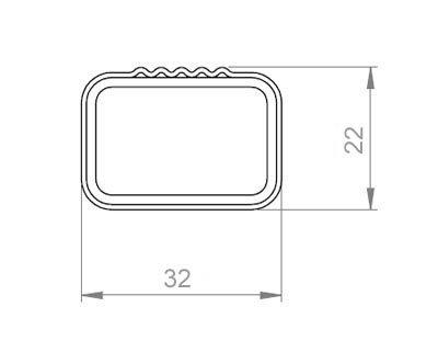 Aurilis Original Roof Girder for Alfa Romeo Giulietta Hatchback 5-Door from 04//2010 Aluminium