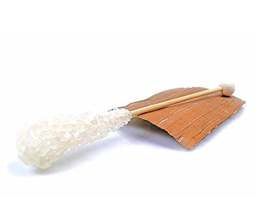 braun einzeln verpackt Kandissticks Kandis Teeparadies-net Kandis-Sticks 5 Stck