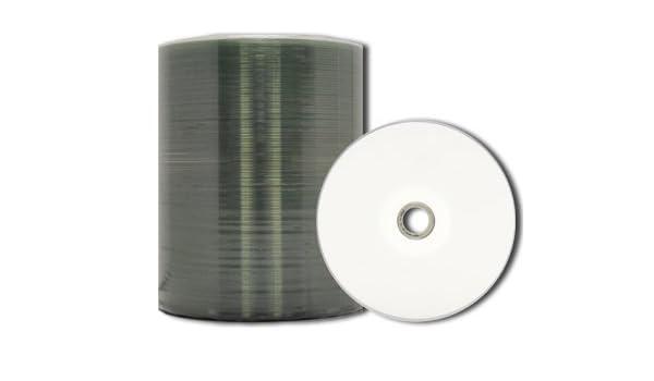 Mediapro profesional White Inkjet Hub Printable CD-R - , 100 ...
