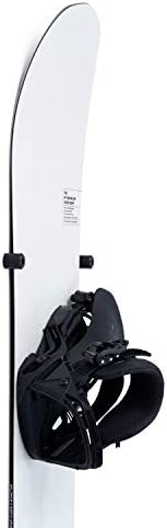 (4 x pcs) Noir Collection Snowboard Hanger Wall Mount Rack Support Display Storage