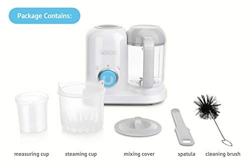 QOOC 4-in-1 Mini Baby Food Maker by minne (Image #1)