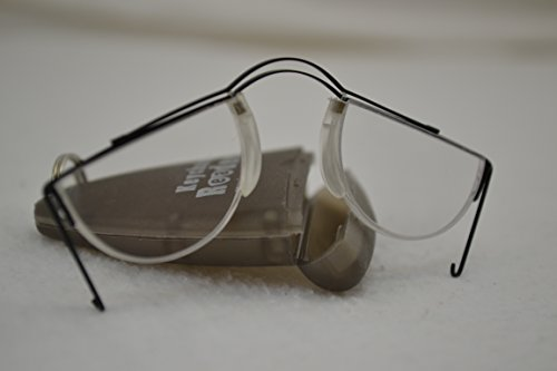 Keychain Readers 2 Pair of Ultra Portable, Foldable & Compact Reading Glasses +2.0