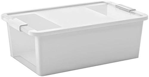 Kis Bi Box 8453000043201 - Caja de Plastico, Blanco /Transparente ...