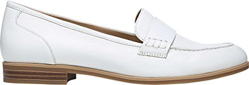 Naturalizer Womens Veronica Loafer,White Leather,US 12 M