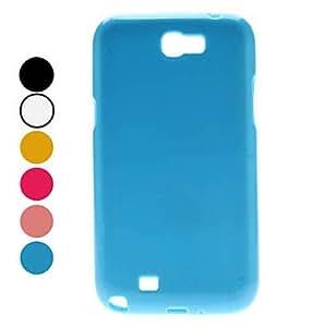 Wohai Gadget Mall - Tipo de caja simple suave para Samsung Galaxy Note N7100 2 (colores surtidos) , Azul