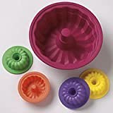 Lifetime Brands JLL15 Jello 5-Piece Silicone Mold Set