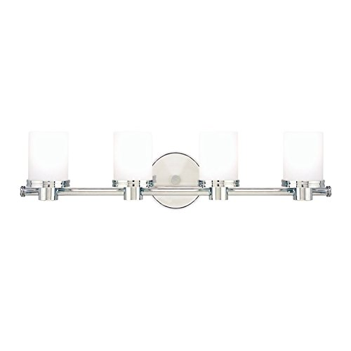 Hudson Valley Lighting 2054-PC Four Light Bath Bracket from The Southport Collection, 4, Polished Chrome