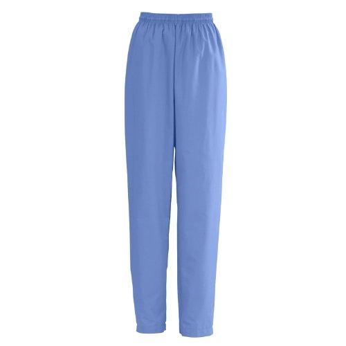 lStat Ladies Elastic With Draw Cord Scrub Pants, Medium, Charcoal (Medline Angelstat Ladies Elastic)