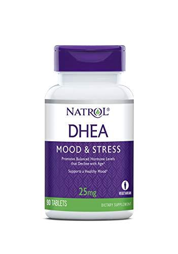 Natrol DHEA 25mg Tablets, 90 Count
