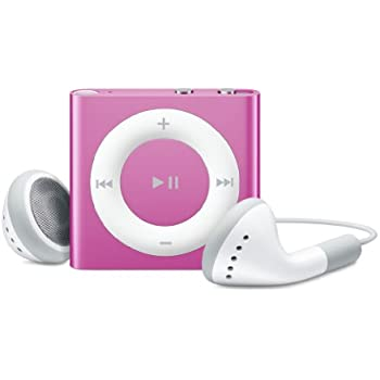 Apple iPod shuffle 2 GB Pink (4th Generation) (Discontinued by Manufacturer)