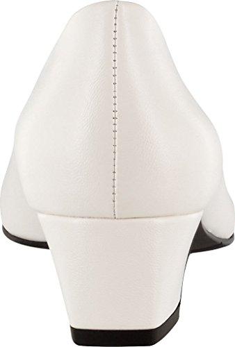 Easy Street Mujeres Prim Dress Pump Blanco