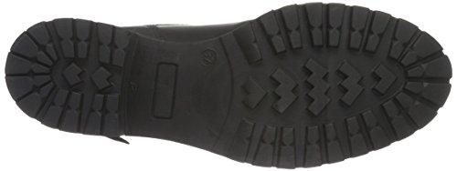 Bianco Warm Combi Boot Son16, Botines para Mujer Negro