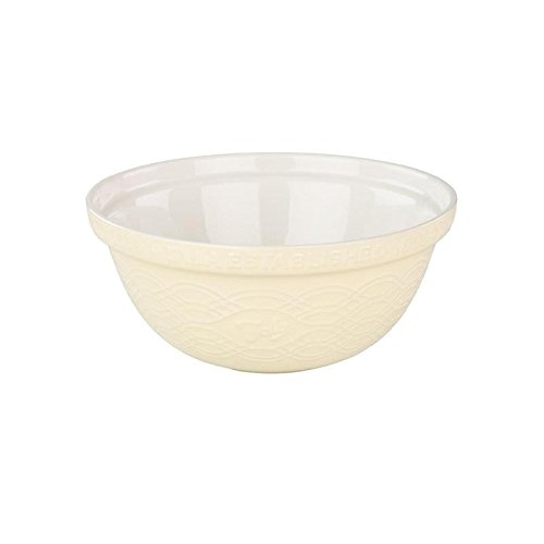 Tala Stoneware Mixing Bowl 30cm, Cream - Pack of 6 by Tala