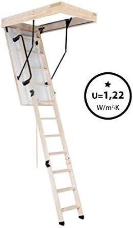 Termo Oman Escalera escamoteable de 110 x 60: Amazon.es: Bricolaje y herramientas
