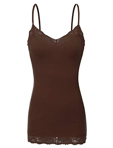 Bozzolo XT1004L Ladies Adjustable Spaghetti Strap Lace for sale  Delivered anywhere in Canada