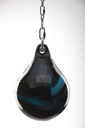 Aqua Punching Bag 18 Inch, 120 Pound Heavy Bag (Bad Boy Blue)