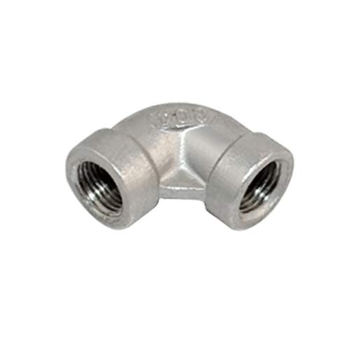 90 Degree Elbow Stainless Steel 304 Threaded 1/8