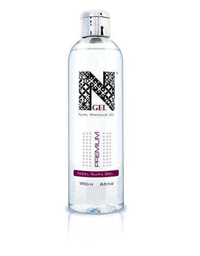 NGel Nuru Massage Gel Premium - besonders ergiebig für die extra seidige erotische Ganzkörpermassage (1x250ml)