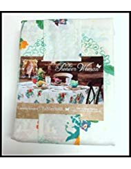 - Pioneer Woman Tablecloth Floral Country Garden 60