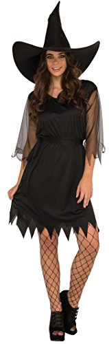Rubie's Women's Sexy Witch Costume, Black, Standard]()
