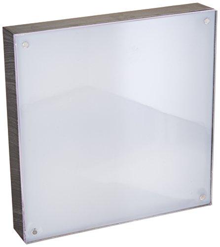 "American Crafts 663019 We R Memory Keepers Photo Lights 8"" x 8""Acrylic Ebony Wood Frame Artists Lighting Equipment"