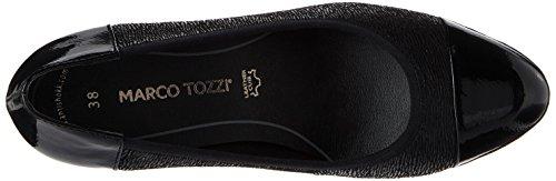 Str Femme Marco Premio 22447 Tozzi Black comb Escarpins Noir 0UZn76xqw