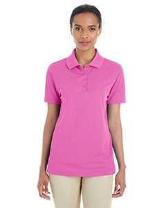 Ash City - Core 365 Origin  Performance Piqué Polo 78181 -CHARITY PINK (Ash Pique Polo)