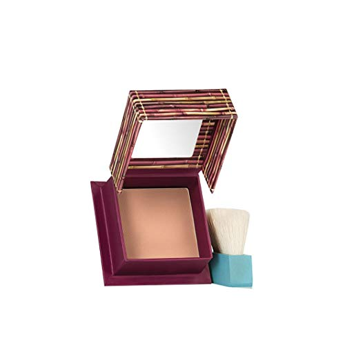 Benefit Hard Angle Brush - Benefit Cosmetics Hoola Matte Bronzer Travel Mini (.14 oz)
