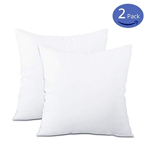 Emolli Throw Pillows Insert Set of 2,18