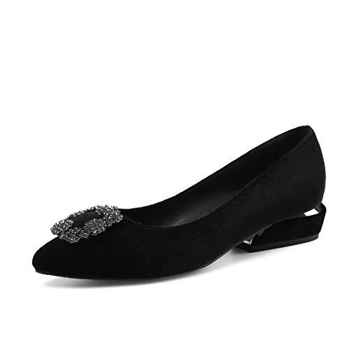 5 AdeeSu EU Compensées Noir Sandales SDC05995 Noir Femme 36 qarZ0aBgW